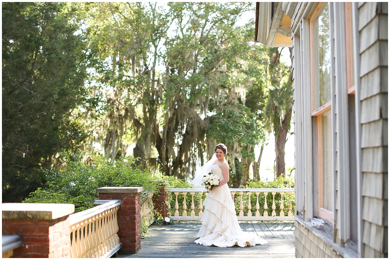Jekyll Island Wedding Photographer | Jana's Bridal Portraits